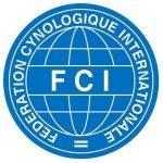 Sello de la Federación Cinologica Internacional